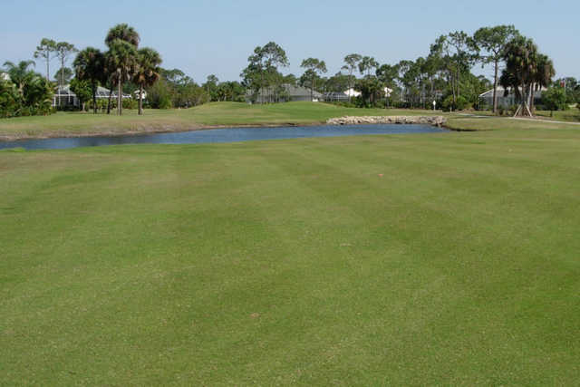 A view from fairway #1 at Osprey from Burnt Store Marina & Country Club
