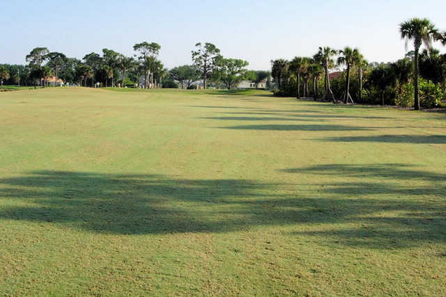 A view from the 9th fairway at Pelican from Burnt Store Marina & Country Club