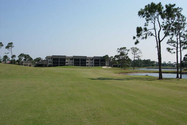 A view from the 1st fairway at Pelican from Burnt Store Marina & Country Club
