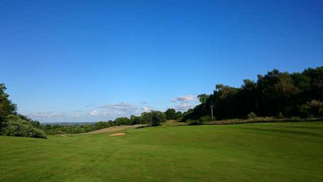View of a green at Rye Hill Golf Club