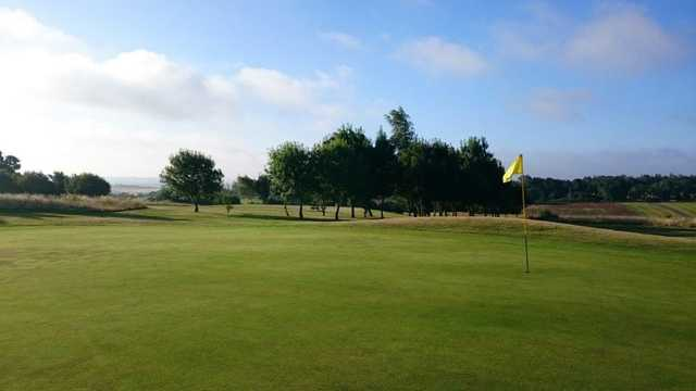 View from a green at Rye Hill Golf Club