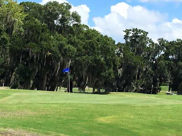 A view of a green at Imperial Lakes Golf & Country Club