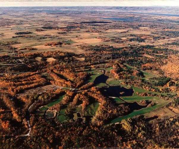 Aerial view from Loch March Golf and Country Club