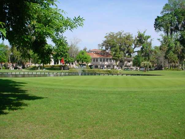 A view of a green at La Cita Golf & Country Club