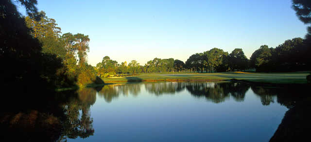 A view over the water from Lansbrook Golf Club
