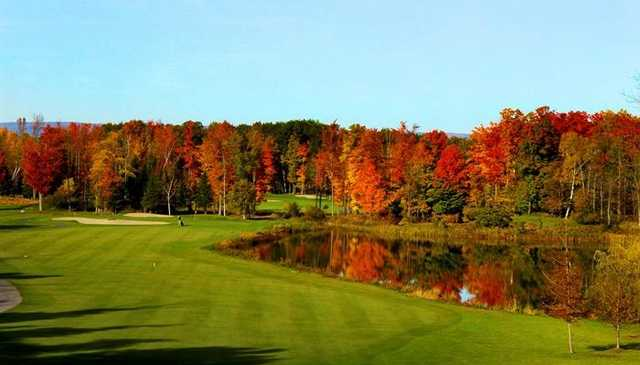 A fall view from Loch March Golf and Country Club