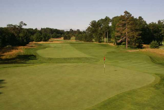 A view of hole #6 at Minocqua Country Club