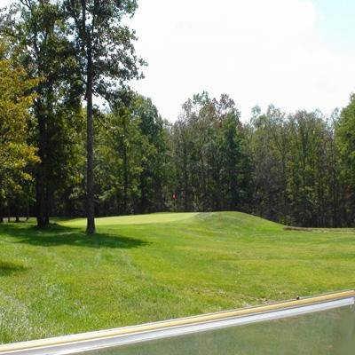 A view of hole #11 at River Run Golf Club