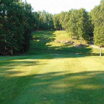 A view from fairway #16 at River Run Golf Club