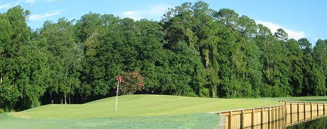 A view of a green at Big Cypress Golf & Country Club