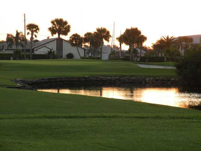 A view of a hole at St. Andrews South Golf Club