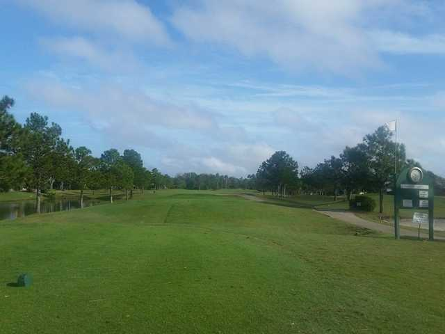 A view from tee #1 at Summerfield Crossings Golf Club