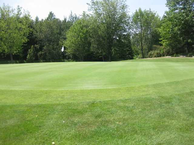 A view of a green at Newcastle Golf Course
