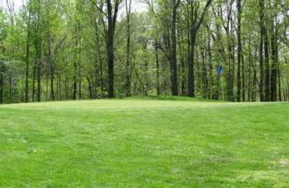 A view of green at Whispering Hills Golf Course