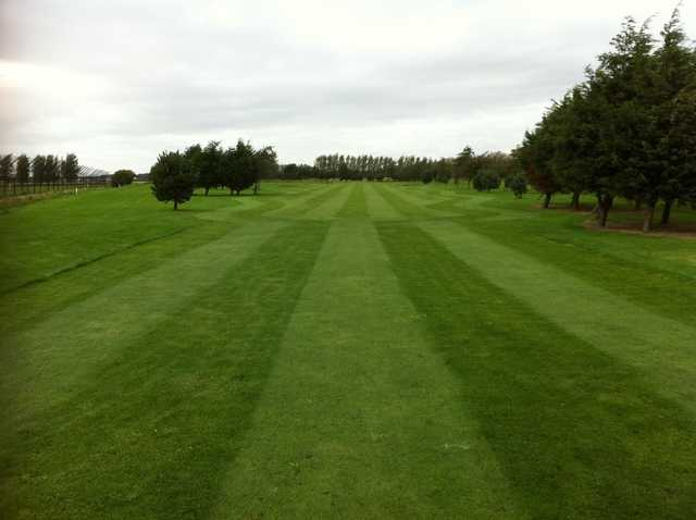 A view from a fairway at Southport Golf Academy