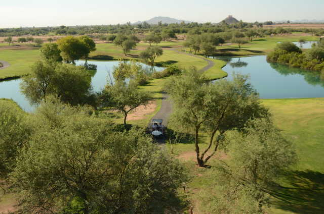 A view from Dave White Golf Course