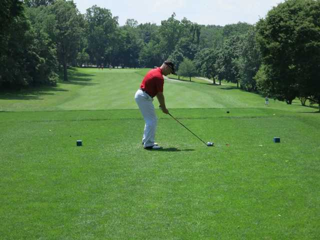 A view from a tee at Kissena Park Golf Course (Stuart A Cohen)