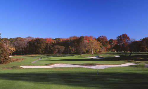 A view of hole #11 at Split Rock from Pelham/Split Rock Golf Course