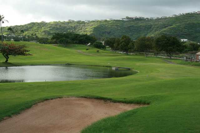 A view from Hawaii Kai Golf Course