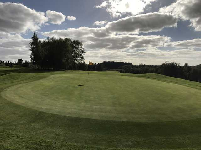 View from a green at Grimsby Golf Club