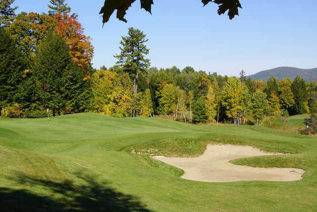 A view of the 4th hole at Brattleboro Country Club