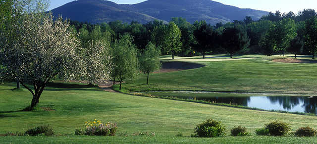 A view over the water from North Conway Country Club