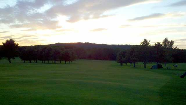 A view of fairway #8 at Rockland Golf Club