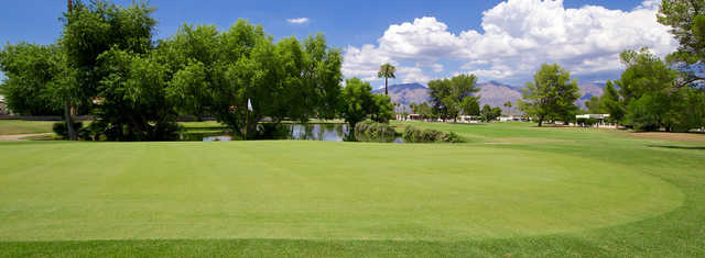 View of a green at Dorado Country Club