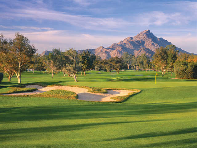 View of the 14th green at Adobe Course at Arizona Biltmore Golf Club