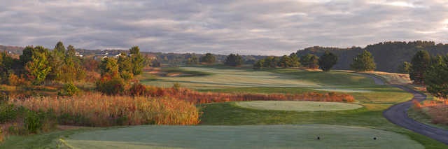 View from the 6th on Grizzly nine at Bear Trap Dunes Golf Club