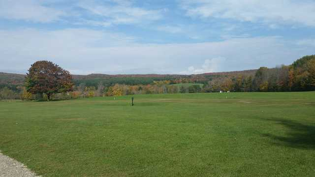 A fall day view from Wahconah Country Club