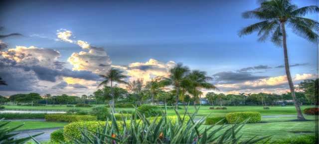 A view from Coral Ridge Country Club