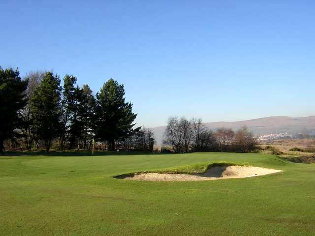Dullatur Golf Club - Antonine Course's first hole