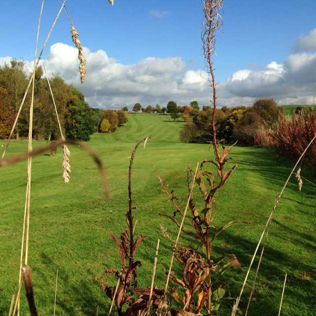 A view from a tee at Buxton & High Peak Golf Club