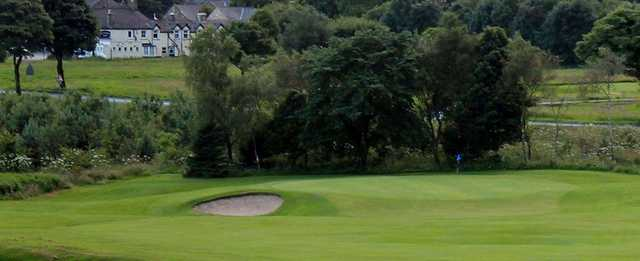 View of a green at Buxton & High Peak Golf Club