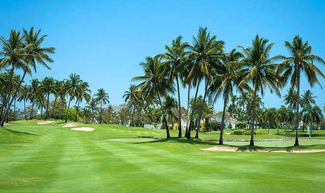 View from a fairway at Vidanta Golf Acapulco