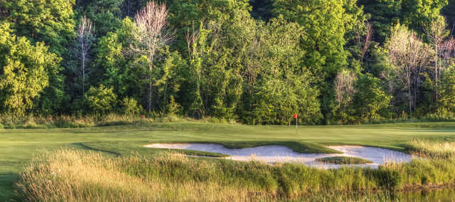 A view of green #3 at White Sands Golf Course & Practice Centre (Derek Mellon)