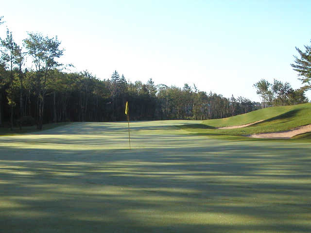 A view of hole #5 from The Links at Montague