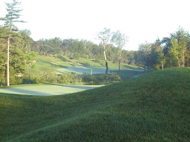 A view of the 9th green from The Links at Montague