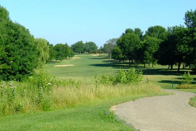 A view from tee #14 at Maplecrest Country Club