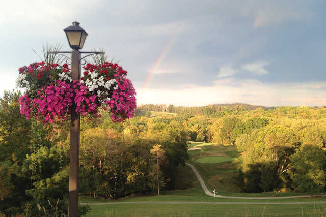 A view of the Rainbow over Crispin Course at Oglebay Resort