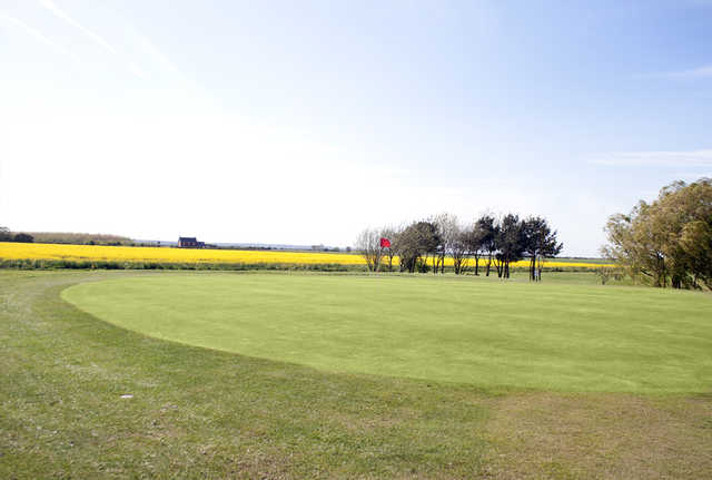 View of the 5th green at Skegness Golf Centre