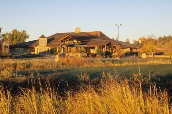 A view of the clubhouse at Riverdale Dunes