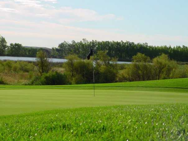 A view of green at Broadlands Golf Course