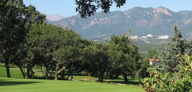 A view from Gleneagle Golf Club