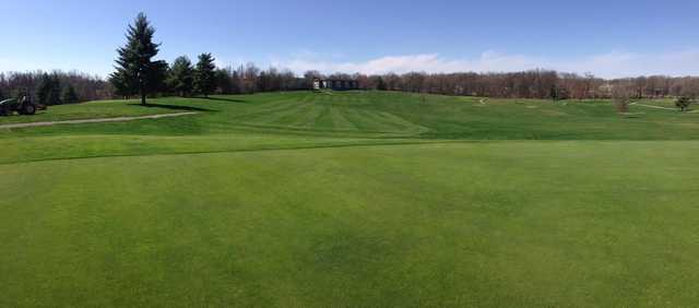 A view of the 16th fairway at Blue Course from Thunderbolt Pass Golf Club
