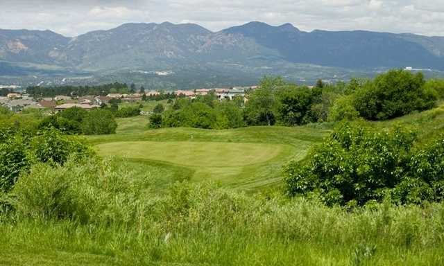 A view of the 17th hole at Pine Creek Golf Club
