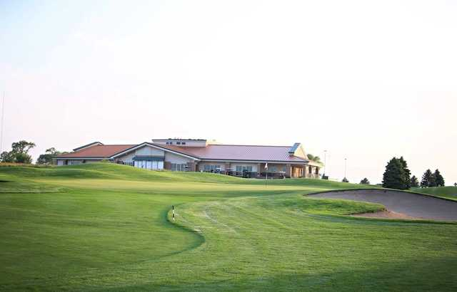 A view from Prairie Links Golf & Event Center