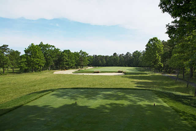 A view from tee #13 at Blue Heron Pines Golf Club