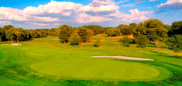 A view of a hole at Galloping Hill Golf Course